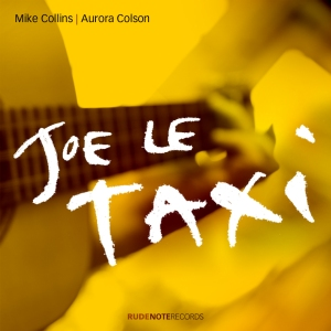 "Cover image for ""Joe Le Taxi"" by Mike Collins & Aurora Colson"