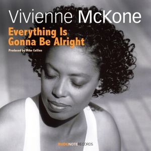 "Cover pic for Vivienne McKone ""Everything Is Gonna Be Alright"""
